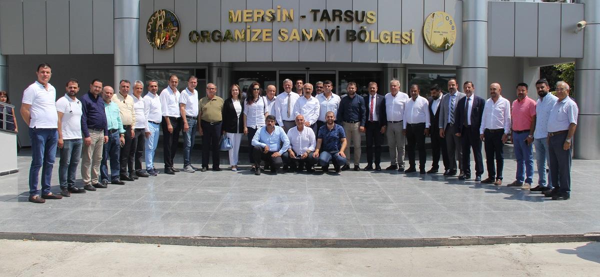 LÜTFİ ELVAN'DAN MTOSB ZİYARETİ
