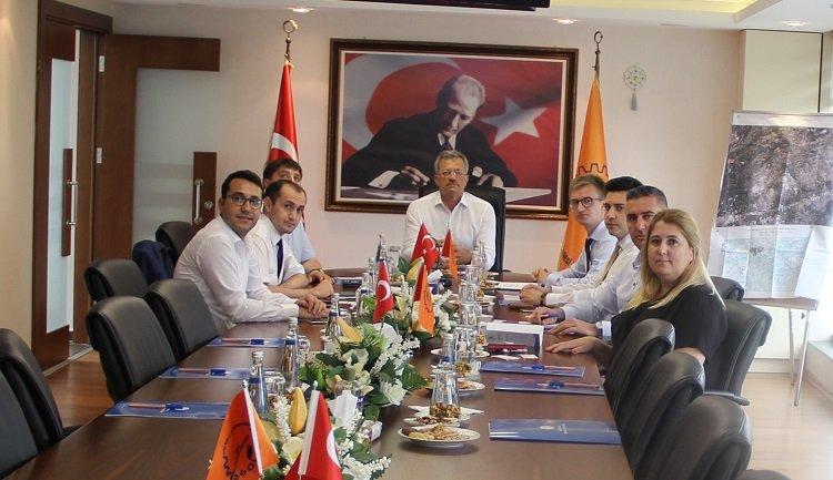 Tataristan Cumhuriyeti Nizhnekamsk Belediye Başkan Yardımcıları Bölgemizi Ziyaret Etti