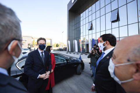 Avrupa Birliği (AB) Türkiye Delegasyonu Başkanı Büyükelçisi Nikolaus Meyer Landrut Bölgemizi Ziyaret etti