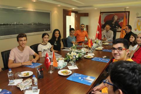 FRC MERSİN OFF SEASON YARIŞMASINA KATILAN OKULLAR BÖLGEMİZİ ZİYARET ETTİ