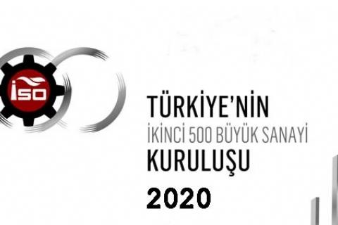 ISO İKİNCİ 500 LİSTESİ YAYINLANDI