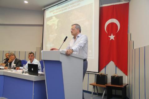 MTSO MECLİS TOPLANTISI MTOSB EVSAHİPLİĞİNDE GERÇEKLEŞTİRİLDİ