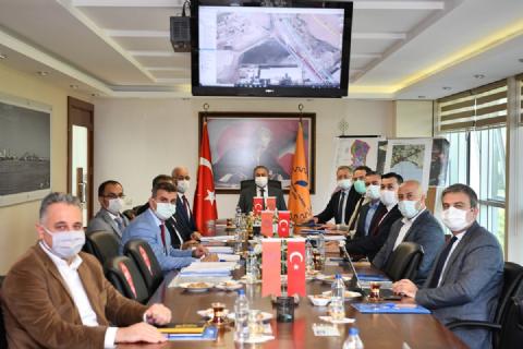 OSB-OTOBAN YOL BAĞLANTISINA AİT KOORDİNASYON TOPLANTISI GERÇEKLEŞTİRİLDİ