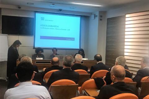 OSBÜK; TBMM Sanayi Komisyonu Başkanı Mustafa Elitaş Başkanlığındaki Milletvekilleri ile İtalya'ya İnceleme Ziyareti Düzenledi