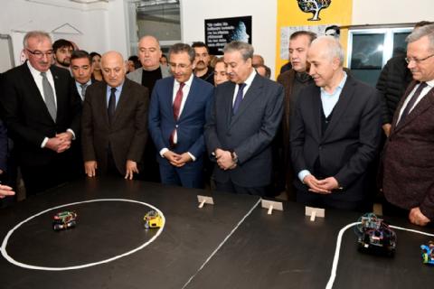 Robotik Kodlama Atölyeleri Açılış Töreni Gerçekleştirildi